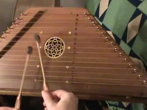 My Cup Runneth Over - Hammered Psaltery