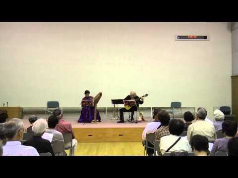 風の盆恋歌(三木たかし) プサルタリー&ギター