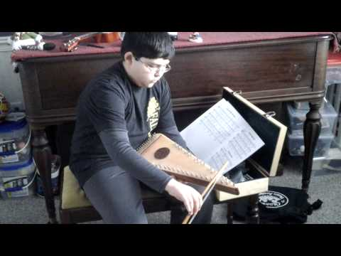 Alec bowed Psaltery