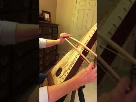 Minuet in G on Bowed Psaltery