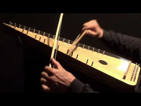 """""""YE BANKS and BRAES"""" on Bowed Psaltery"""