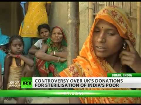 Population Control: UK aid funds forced sterilisation of India's poor
