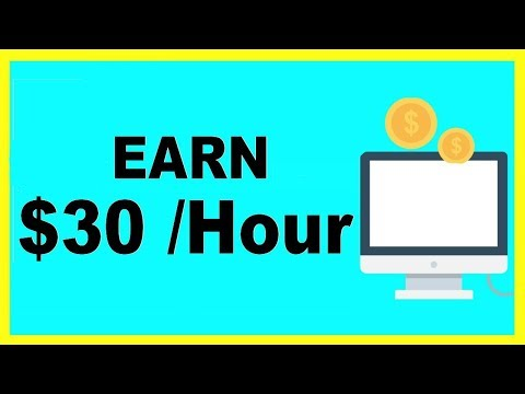 MAKE $30 PER HOUR JUST BY WATCHING VIDEOS & TESTING SITES Online!! (Get Paid Fast, Easy Money -2017)