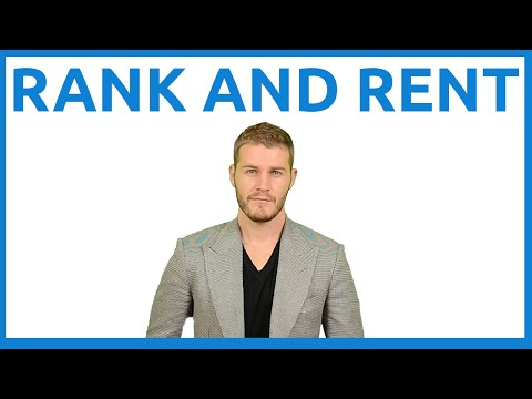 Rank and Rent Webinar Replay
