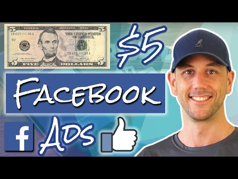 $5 Facebook Ads - Beginner & Advanced FB Advertising Strategy Using $5 Ad Sets, Revealed!