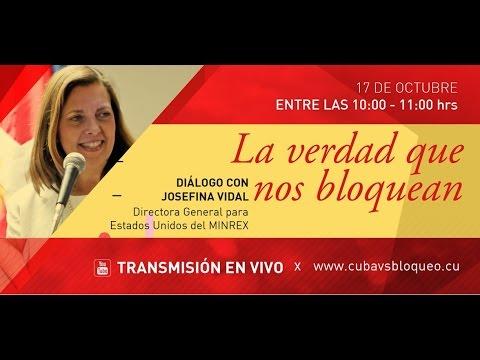 Diálogo con Josefina Vidal. Directora General para Estados Unidos del Minrex