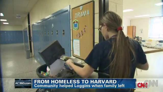 From Homeless and scrubbing floors to Ivy League student