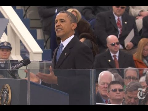 Barack Obama 2013 Inauguration Speech