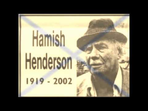 Freedom Come All Ye Hamish Henderson