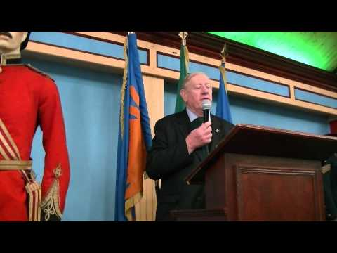 Irish History: Billy McGuire Speaking at the Teacher's Club Dublin Part 1 of 2