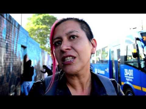 Memorias en resistencia de la lucha antimilitarista en Bogotá