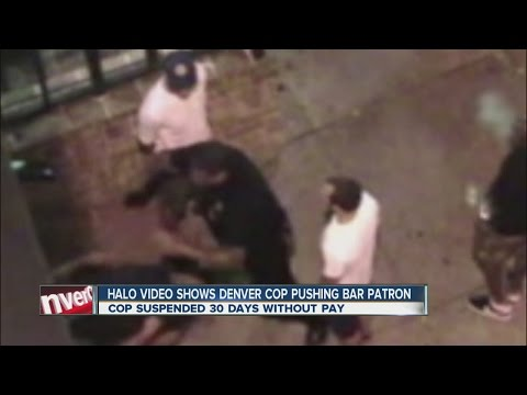 Video: Denver officer shoves man to ground