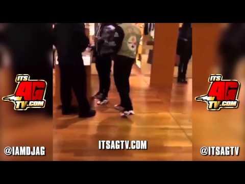 Lil Durk's DJ (DJ Bandz) Gets Knocked Out