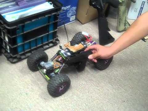 East Coast Airsoft Custom Shooting RC Car