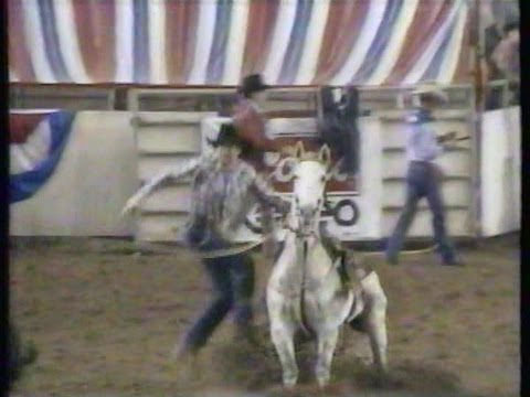 Calf Roping - 1984 NFR go round highlights and 10th round