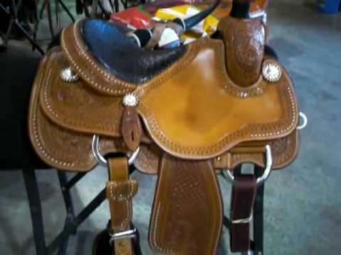 Joe Beaver Calf Roping Saddle by Martin Saddlery