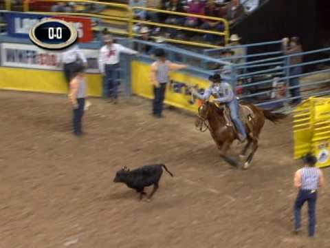 Highlights of 09 NFR Tie-Down Roping