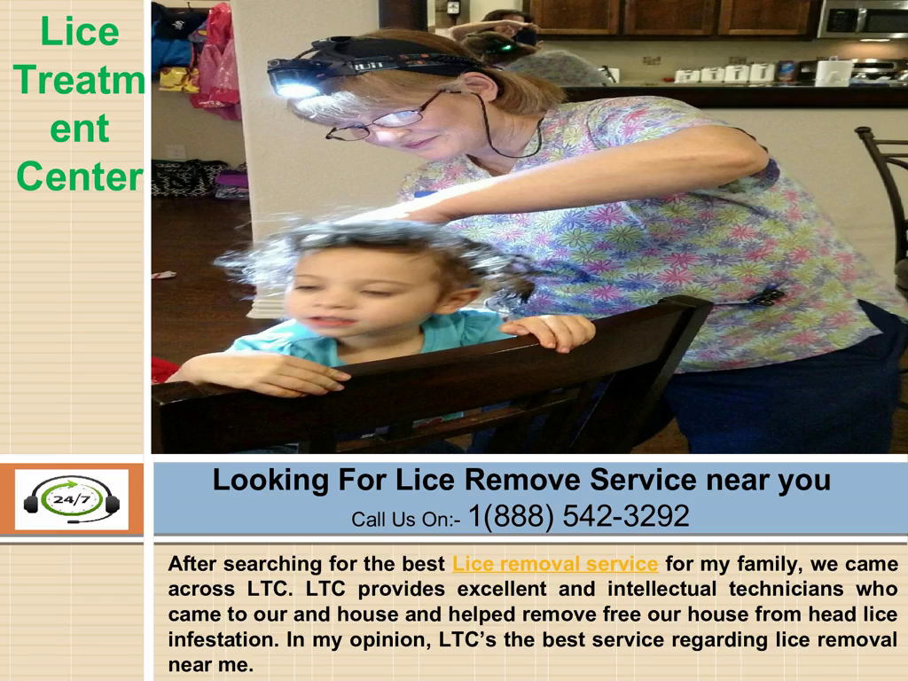 Your child has Lice! Use lice removal service
