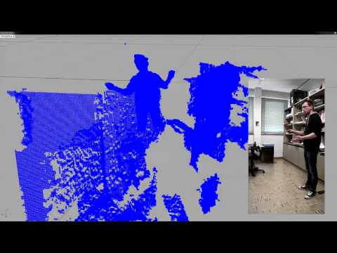 HMI: Microsoft Kinect integration in Rhinoceros 5