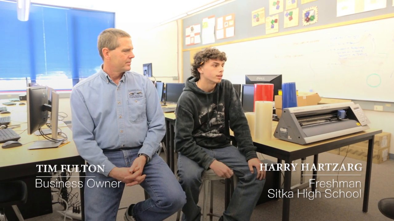 Collaborative Digital Design at Sherwood and Sitka High Schools