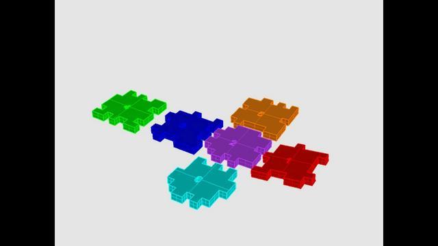 Puzzle model