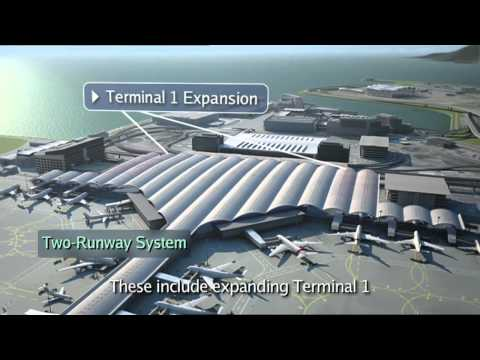 Hong Kong International Airport Master Plan 2030