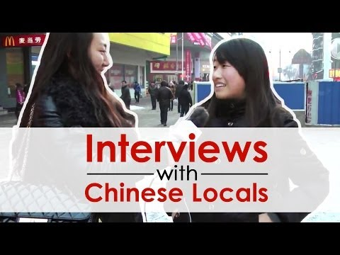 Chinese on the Street - Do you like to eat Chinese food?