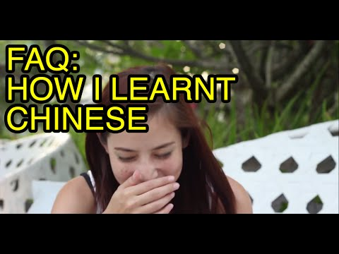 FAQ-How I learnt Mandarin  with Fiona Tian