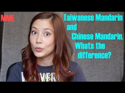 What's the difference between Mandarin in Taiwan and China?