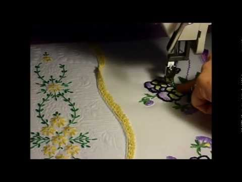 Heirloom Quilting on a Tin Lizzie.wmv