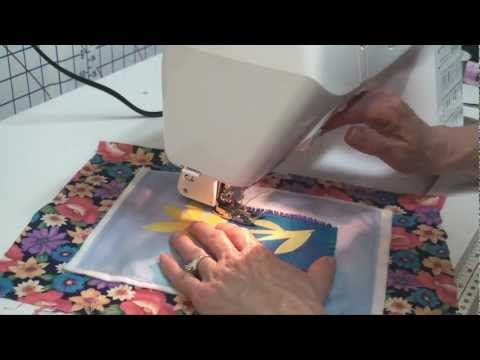 Mini Flower Art Quilt Tutorial