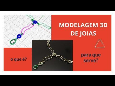Modelagem 3D de Joias - o que é e para que serve?