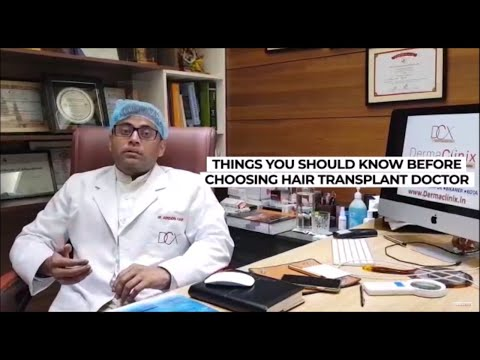 How to Choose Best Hair Transplant Doctor or Clinic - DermaClinix New Delhi
