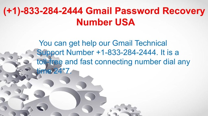 Gmail Technical 1833 284 2444 Support Number