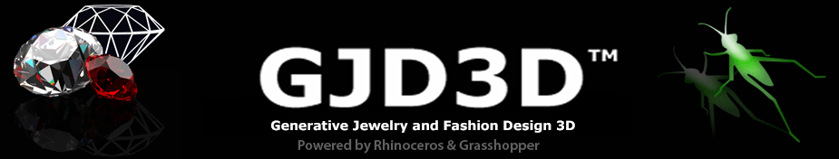 Generative Jewelry and Fashion Design 3D