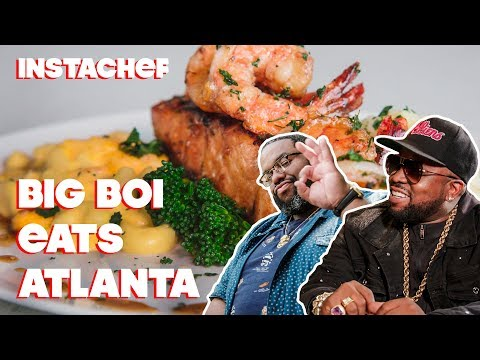 Big Boi From Outkast Introduces Cliff To Atlanta's Food Scene || InstaChef