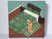 "♥ Pembroke Welsh Corgi Dog Original Painting ♥ ""Corgi Puppy Prayers"" ♥ % Goes to CorgiAid ♥ Listed for Charity ♥"