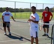 Alamo City Aces Weekly Hit Around, Clark HS Courts, San Antonio, TX