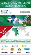 CTI PFAN Africa Forum for Clean Energy Financing (AFRICEF)