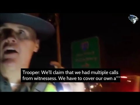 Cops illegally confiscate guy's phone and accidentally record themselves debating the best way to frame him