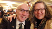 Two of The Wild Geese at Sardi's on St. Patrick's Day