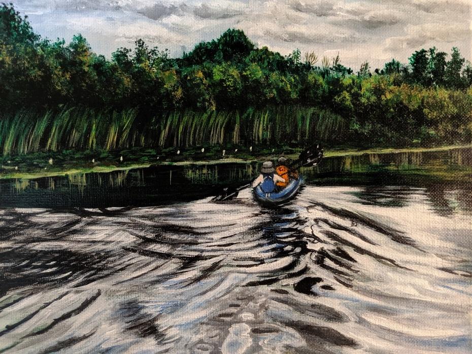 2019-24 Kayak on the Lake