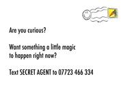 SECRET AGENTS NEEDED