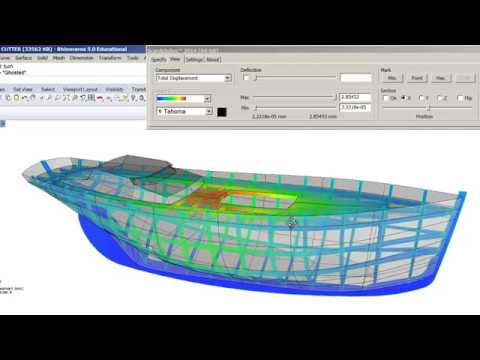 Scan and Solve Finite Elements Analysis   simulation  Classic  Pilot Cutter  structure