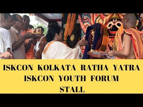'Your ever well wisher' video show. IYF Stall - ISKCON Kolkata Ratha Yatra 2019