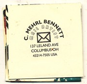 mail art booklete from CMB