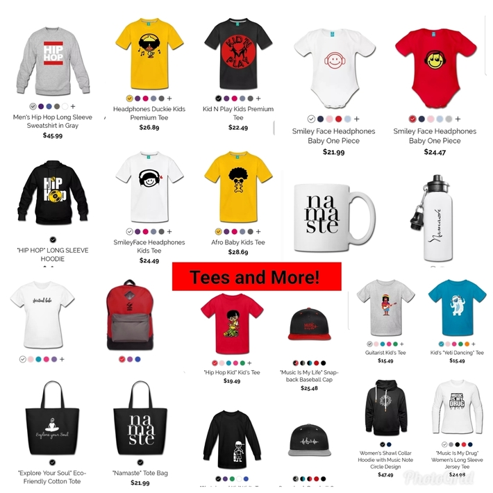 TEES AND MORE!
