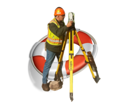 Land Surveyor Support Hubs