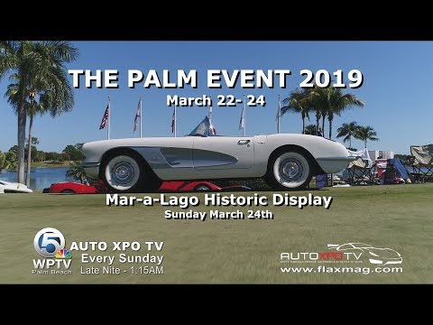 Most Amazing Collection of Vintage Cars Displayed at THE PALM EVENT