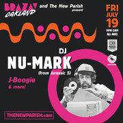 DJ Nu-Mark from Jurassic 5 | BRAZA Oakland
